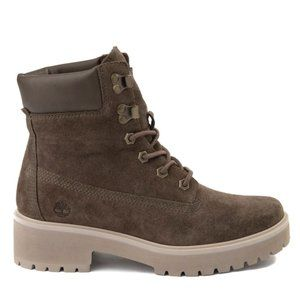 TIMBERLAND Olive Green Suede Carnaby Cool Boot 8.5